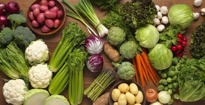 Fresh benefits of vegetarianism