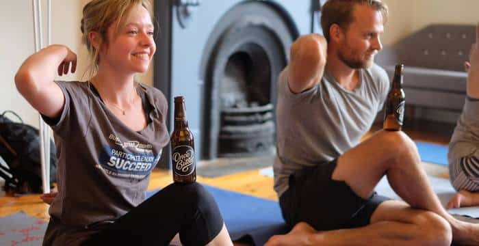 Different Types of Yoga with Beer
