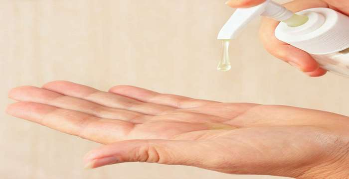 tips for keeping healthy hand - Cleaning